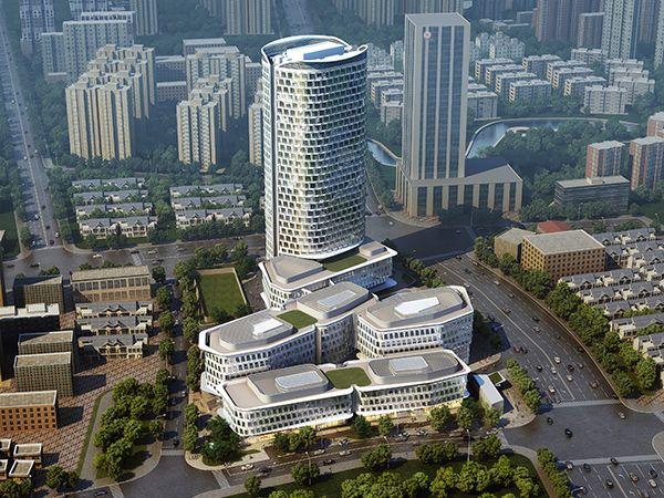 上海金融街海伦路中心